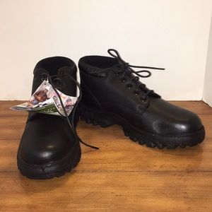 Rocky TMC Black Leather Chukka Boots NEW